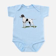 English Pointer Standing Infant Bodysuit