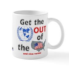 U.N. Out! Small Mug