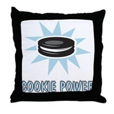 Cookie Power-1 Throw Pillow