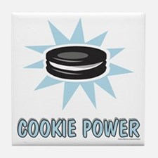 Cookie Power-1 Tile Coaster