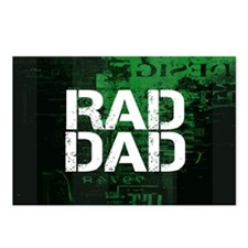 Rad Dad Postcards (Package of 8)