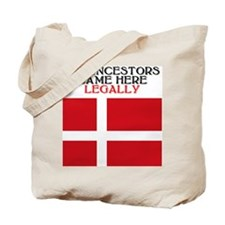 Danish Heritage Tote Bag