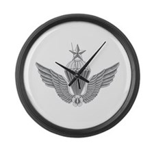 S Korean Jump Wings Senior Large Wall Clock