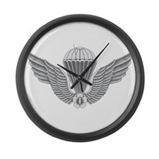 S Korean Jump Wings Large Wall Clock