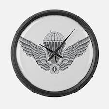 S Korean Jump Wings Large Wall Clock