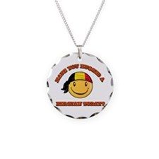 Have you hugged a Belgian today? Necklace
