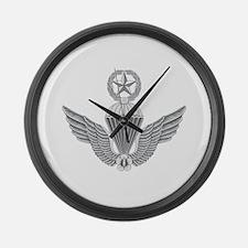 S Korean Jump Wings Master Large Wall Clock