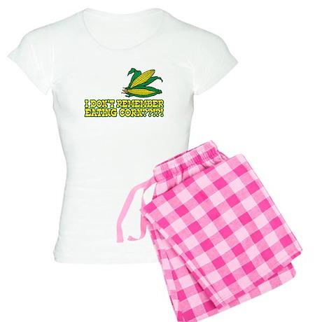 I Don't Remember Eating Corn Women's Light Pajamas