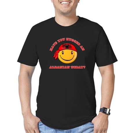 Have you hugged an Albanian today? Men's Fitted T-
