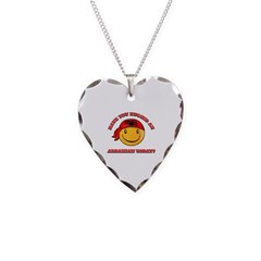 Have you hugged an Albanian today? Necklace