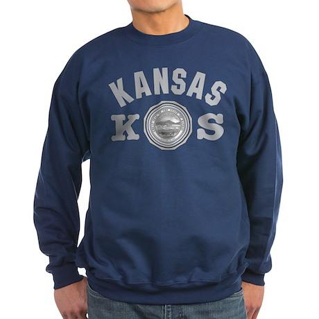 Kansas Seal Sweatshirt (dark)