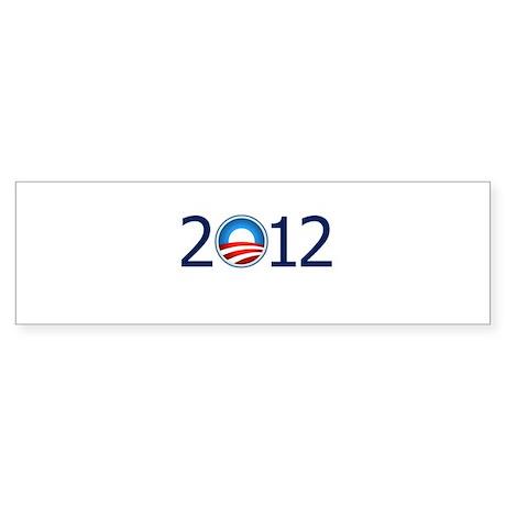 2012 Blue Text Sticker (Bumper)