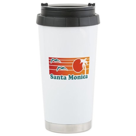 Santa Monica Stainless Steel Travel Mug