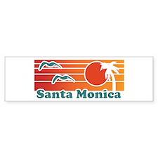 Santa Monica Bumper Sticker