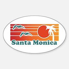 Santa Monica Decal