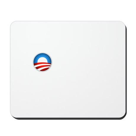 Romney Blue Text Mousepad