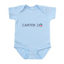 Carter 2.0 Blue Text Infant Bodysuit