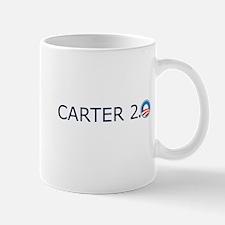 Carter 2.0 Blue Text Mug