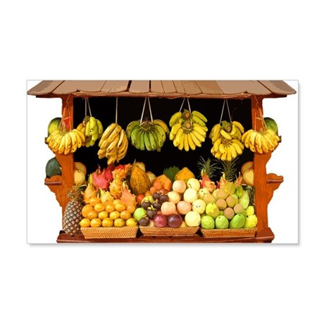 Fruit Stall 22x14 Wall Peel