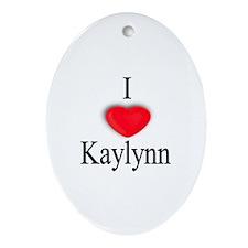 Kaylynn Oval Ornament