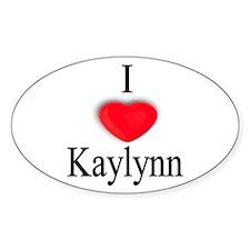 Kaylynn Oval Decal