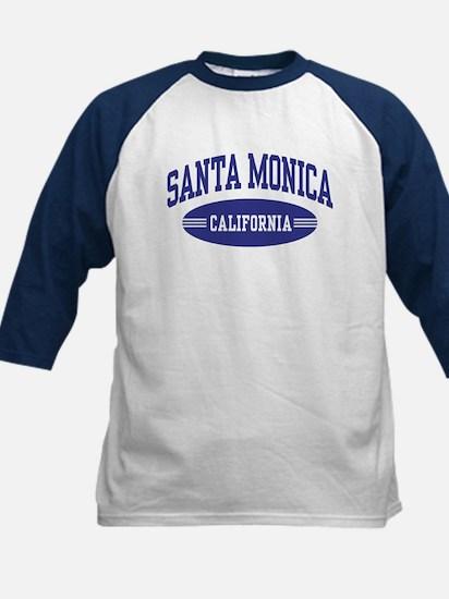 Santa Monica California Kids Baseball Jersey