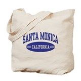 Santa monica Canvas Tote Bag