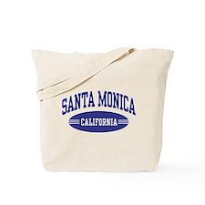 Santa Monica California Tote Bag