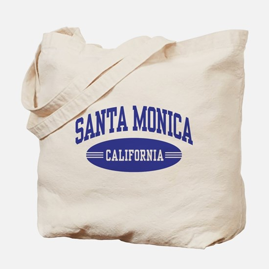 Santa Monica California Tote Bag