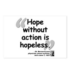 Lown Hope Quote Postcards (Package of 8)