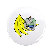 """Funny Gorilla 3.5"""" Button"""