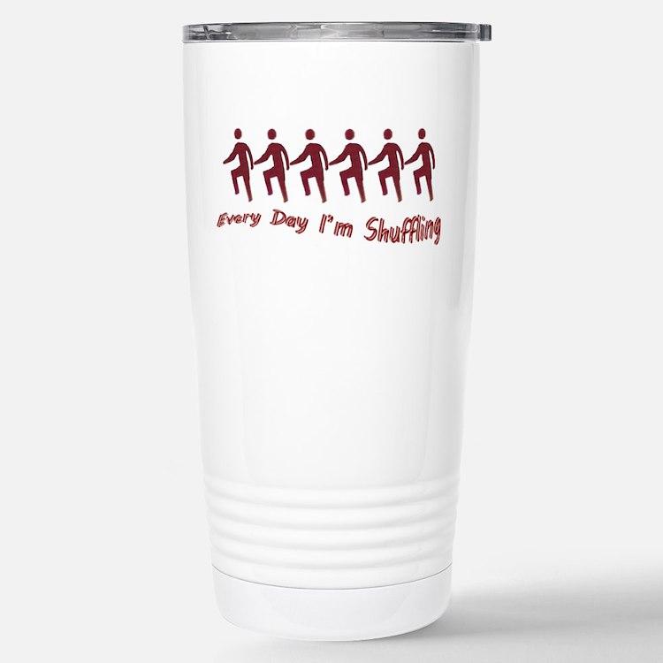 Cute Shuffling Travel Mug