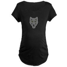 Grey Wolf Head Symbol T-Shirt