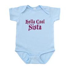 Hella Cool Sista Infant Bodysuit