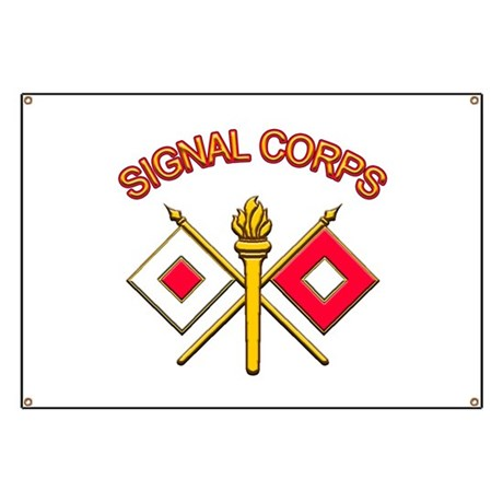 Signal Corps Banner