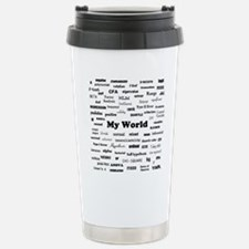 Stats are My World Travel Mug