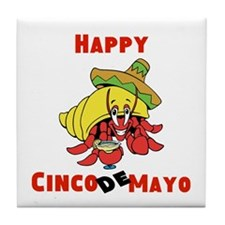 Happy Cinco De Mayo Tile Coaster