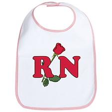 RN Nurses Rose Bib