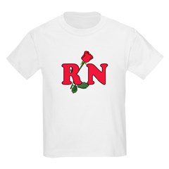 RN Nurses Rose T-Shirt