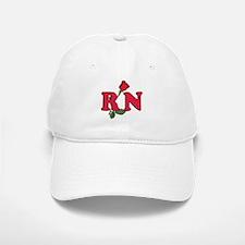 RN Nurses Rose Baseball Baseball Cap