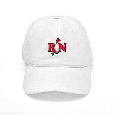 RN Nurses Rose Baseball Cap