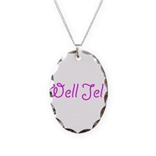 Well Jel Necklace Oval Charm