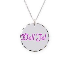 Well Jel Necklace Circle Charm