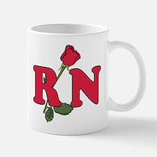 RN Nurses Rose Mug