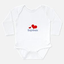 Enjolraic Long Sleeve Infant Bodysuit