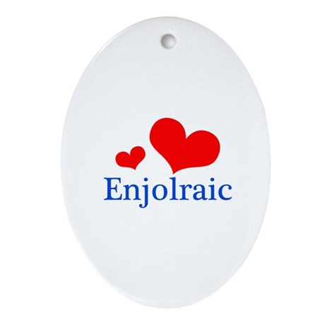 Enjolraic Ornament (Oval)