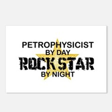 Petrophysicist Rock Star by Night Postcards (Packa
