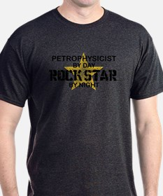 Petrophysicist Rock Star by Night T-Shirt