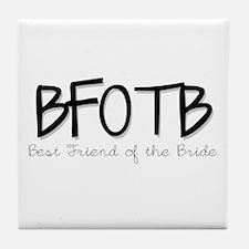 Unique Bachelorette party Tile Coaster