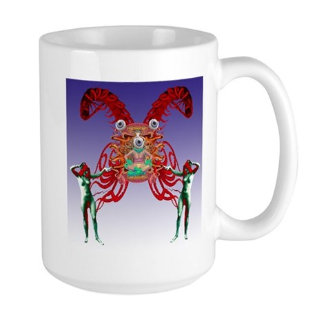 The Secret Master of the Worl Large Mug